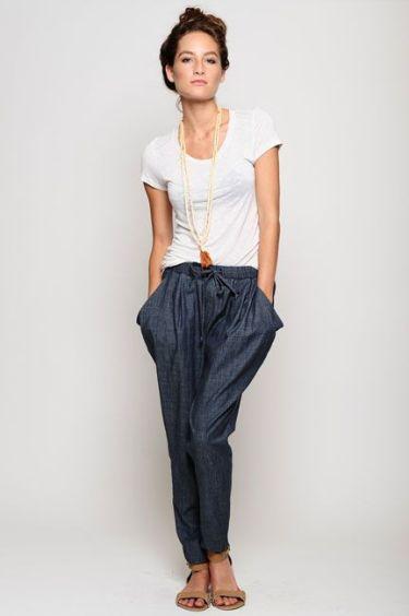 Pantalonii harem