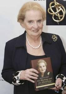 """Madeleine Albright si brosa sa """"Orice carte este capatul unui drum intortocheat"""""""