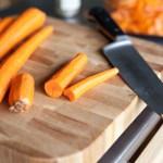 Supa crema de morcovi cu chimen si galuste