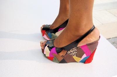 Cum iti restilizezi sandalele vechi