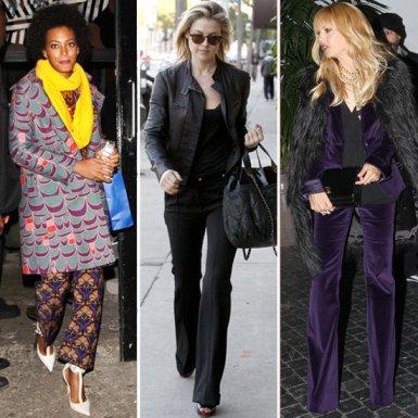 Pantalonii largi adoptati de celebritati