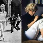 Brigitte si Marilyn cu pantaloni 3/4