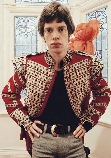 Mick Jagger si jacheta sa militara