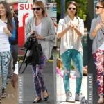 Trend - jeansi imprimati