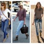 Cizmele scurt cu jeansi slim
