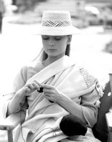 Audrey Hepburn tricotand