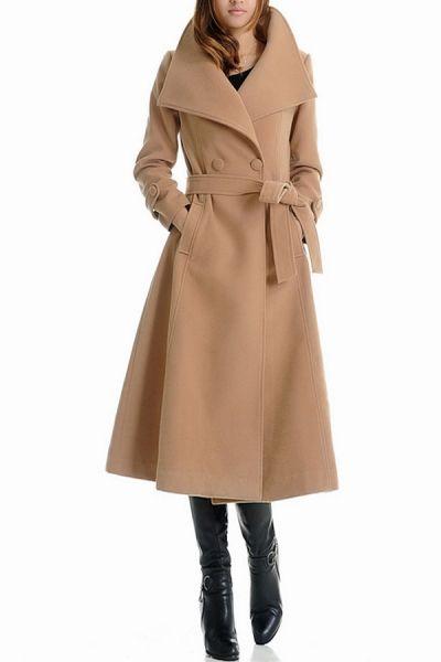 Paltonul camel – manevra vestimentara de toamna