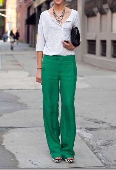 Pantalonii din in - manevra vestimentara de vara