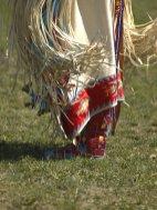Franjuri din piele costum indieni America de Nord