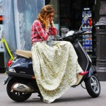 Fusta lunga – manevra vestimentara de vara