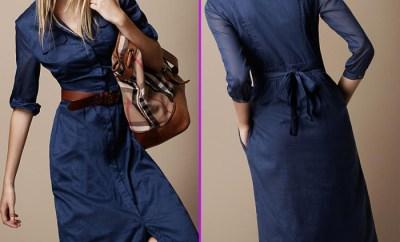Rochia camasa, maneva vestimentara de primavara