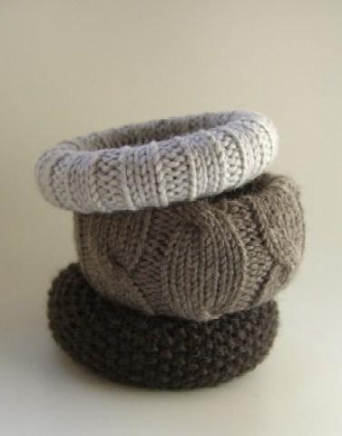 bratari din pulovere vechi