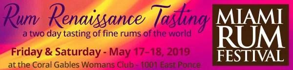 Miami Rum Festival - Rum Renaissance Tasting