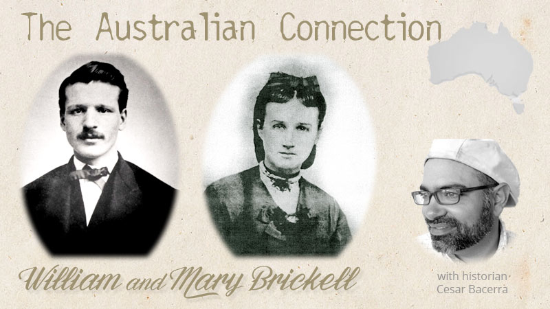 William and Mary Brickell - The Australian Connection