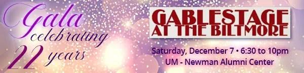GableStage Celebrates 22 Years
