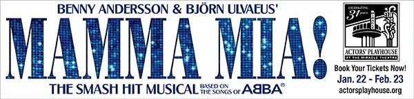 Actors' Playhouse - Mamma Mia musical at the Miracle Theatre