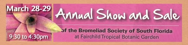 Annual Bromeliad Show and Sale