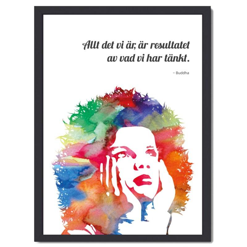 Affisch dreamer girl