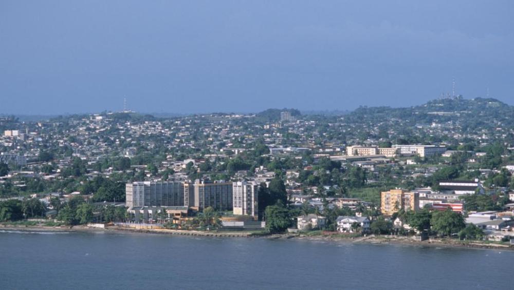 Libreville vue aerienne