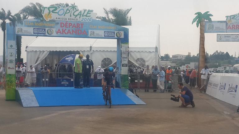L'épreuve du Contre la Montre exige que le cycliste coure plus vite pour engranger plus de secondes en peu de temps @ Gabonactu.com