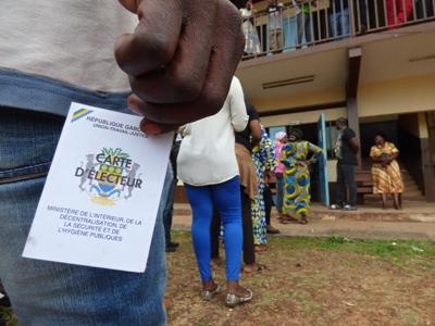 Les électeurs s'étaient mobilisés le 27 août dernier comme ici à l'école publique de la Cité Damas @ Gabonactu.com