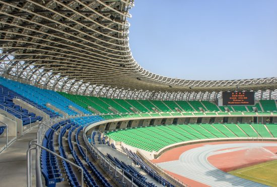 Taiwan National Stadium Sculpted from Concrete, Steel, and BIPV ...