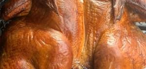 blood orange tea brined turkey