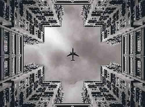 Faites des photos symétriques