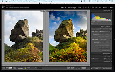 Edit your photos with professional software