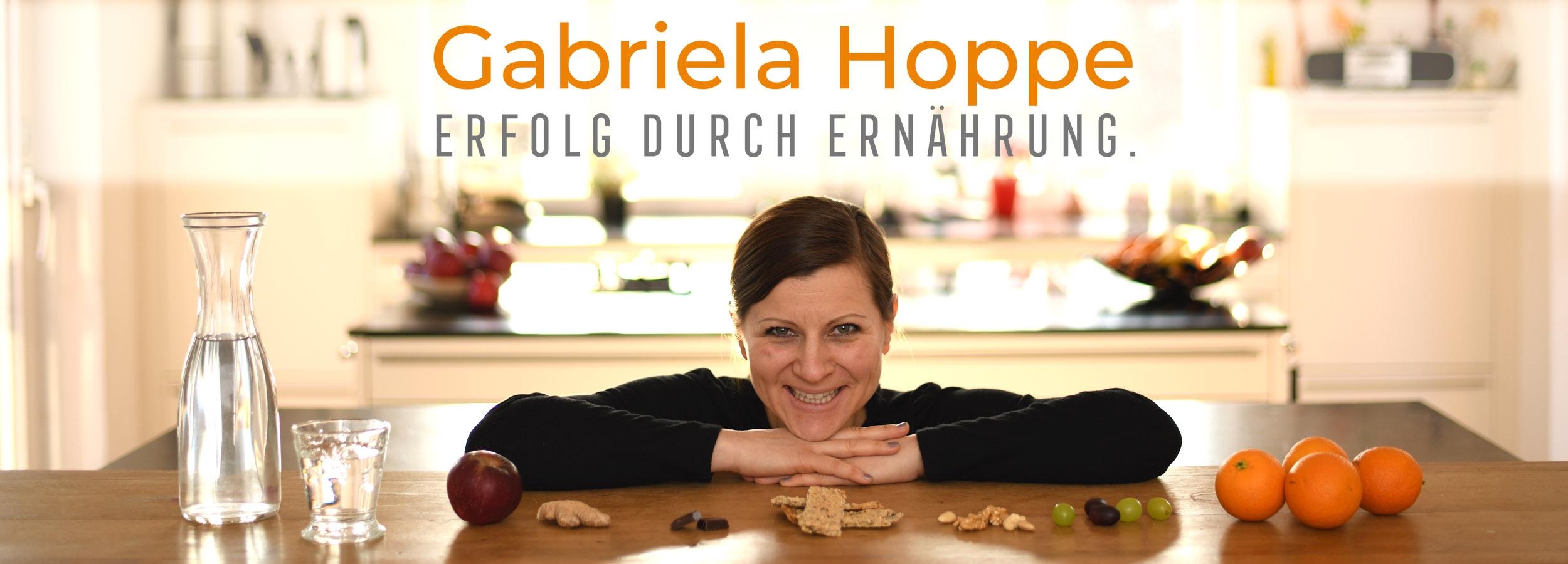 Erfolg durch Ernährung - gesund abnehmen & Stoffwechsel optimieren mit Dr. Gabriela Hoppe - Ernährungsspezialistin & Heilpraktikerin