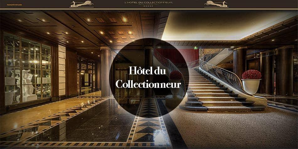 virtual tour luxe hotel Paris