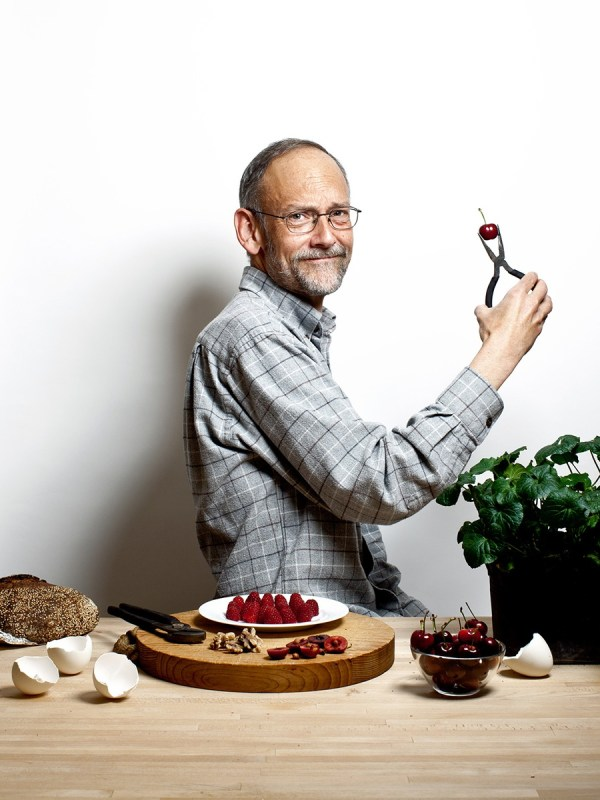 Food authour, Harold McGee for San Francisco magazine.