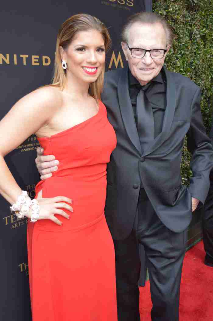 Gaby and Larry King