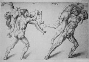 Frauenraub - Raub der Sabinerinnen - Albrecht Dürer