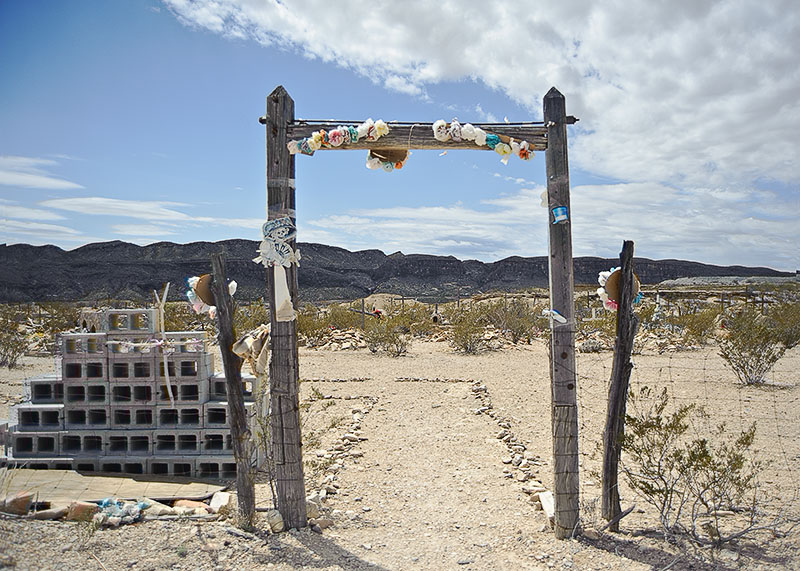 USA, Terlingua Ghost Town, Texas, graveyard, cemetery, Big Bend, Friedhof