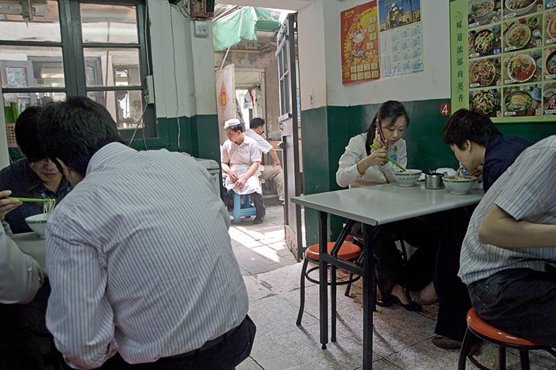 China, Shanghai, food, street