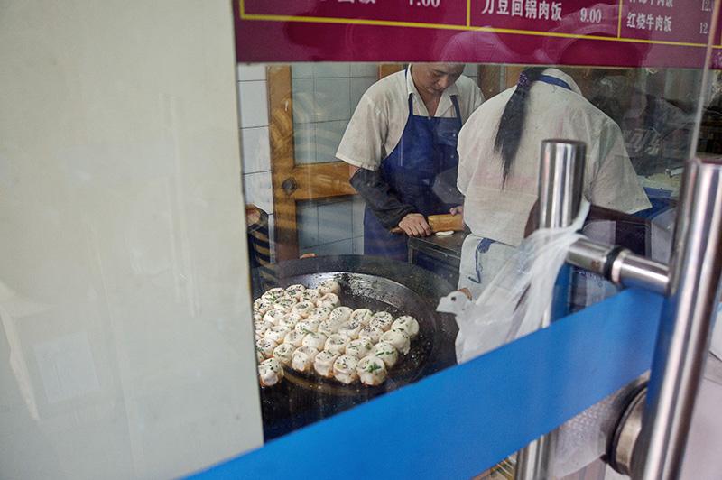 China, Shanghai, food, dumplings