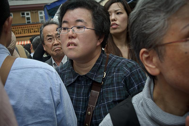 Japan, Tokyo, Tsukiji, market, crowd