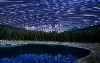 dolomiti nikon school workshop paesaggio notturna via lattea startrail 00046