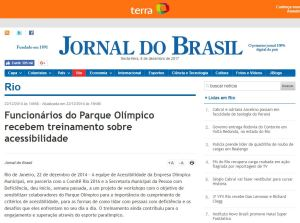 Gabriella Zubelli - Matéria Jornal do Brasil