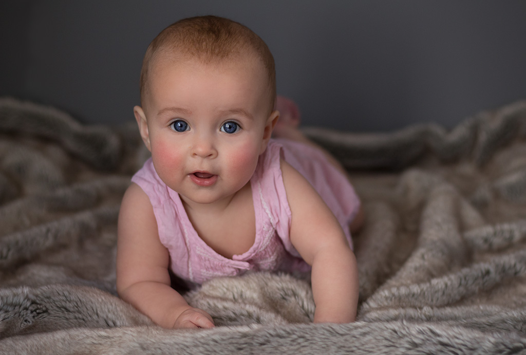 Milestone session with Gabrielle Hasamear Photography are the perfect way to capture your baby's first year of life!