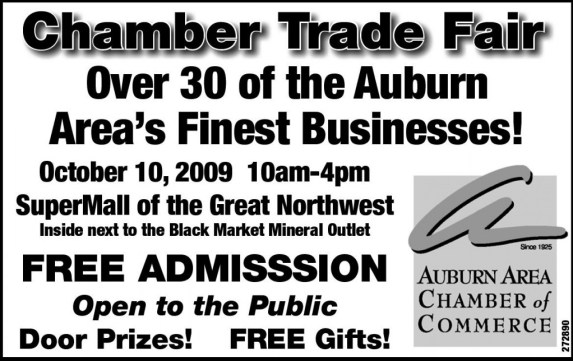 Auburn Area Chamber of Commerce Trade Fair