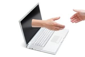 Online handshake