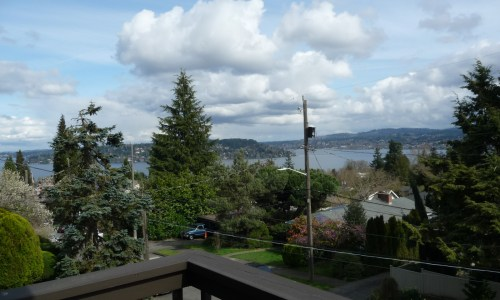 SOLD!–Affordable Lake Washington View!