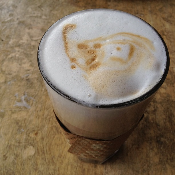 Another tasty latte