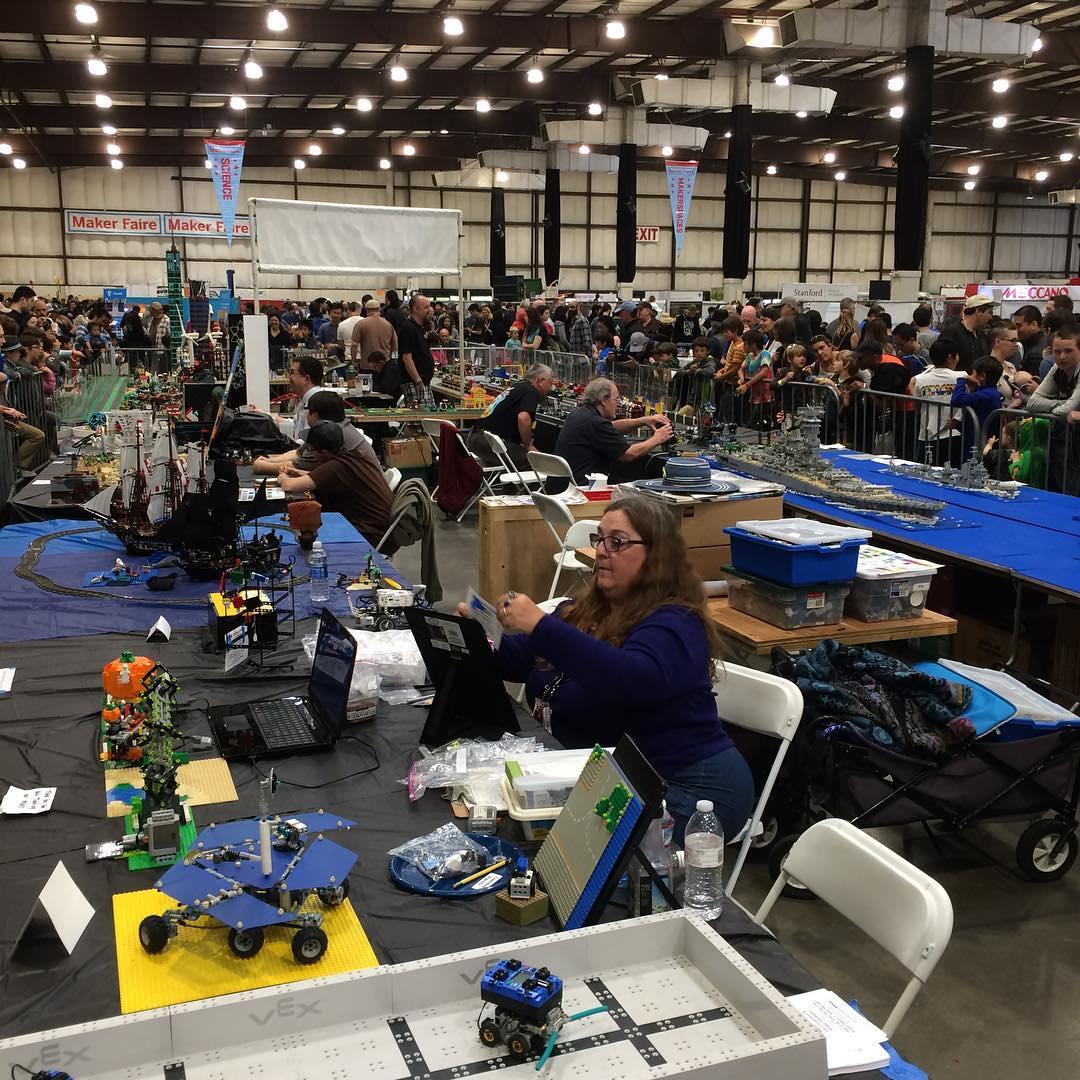 Cool Legos at Maker Faire
