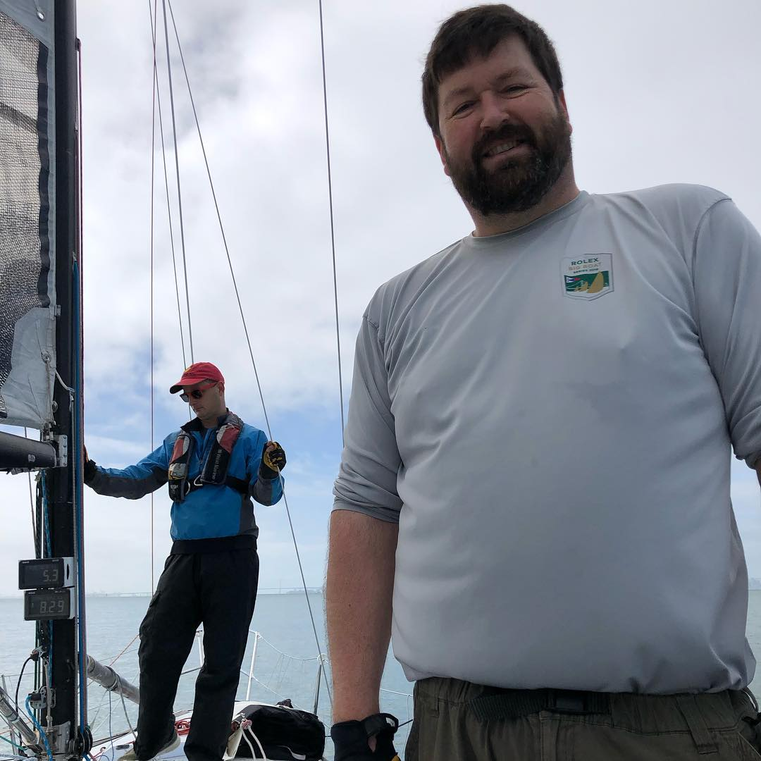 Day 1 of Great Vallejo race on Express 37 Stewball