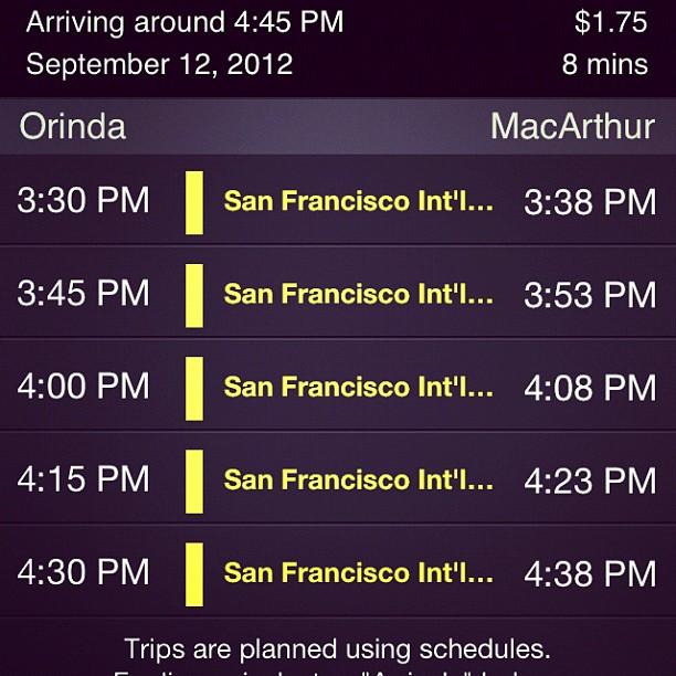 Headed to Berkeley for sailing tonight :)