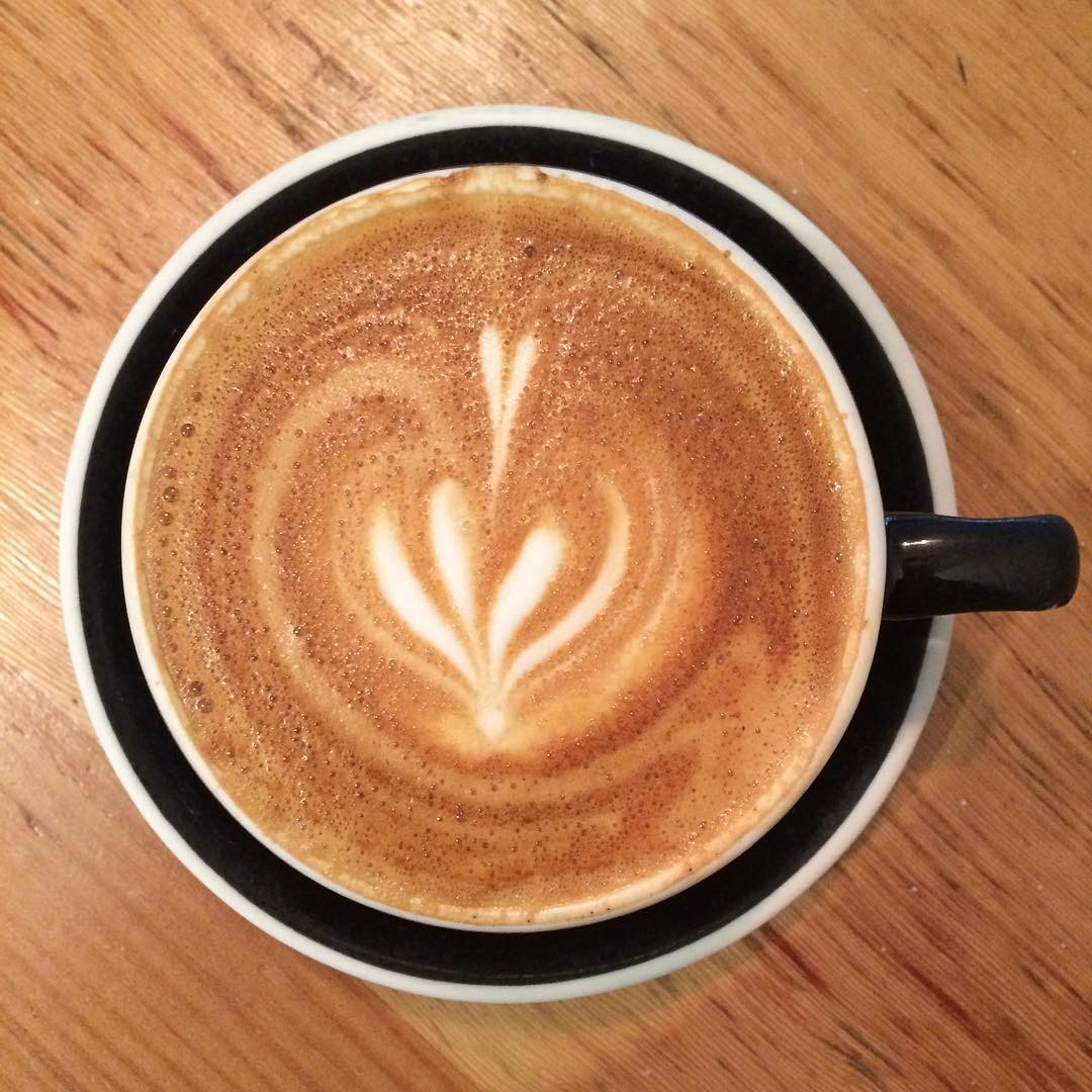 It's a cappuccino kind of day