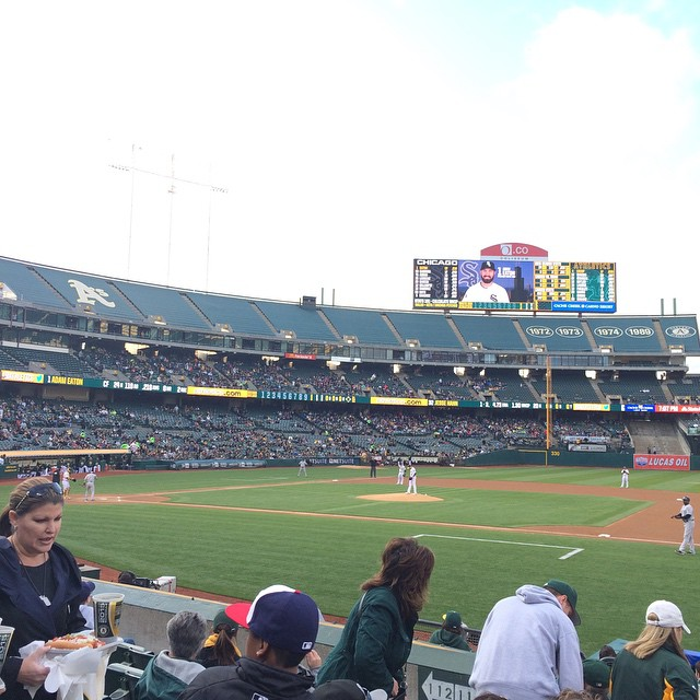Let's go A's!